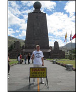 James at the Equator